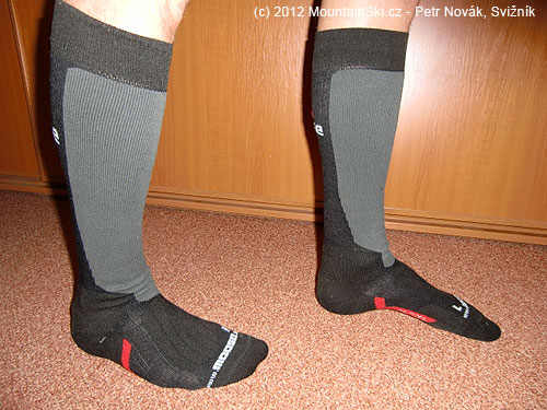 Boční náhled na ponožky Moose SKIALP
