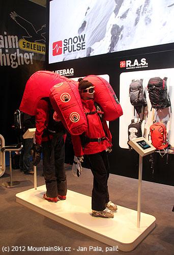 Lavinové batohy SnowPulse a SnowPulse R.A.S.