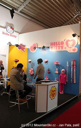 Tak to je síla– lyže vbarvách Hello Kitty!