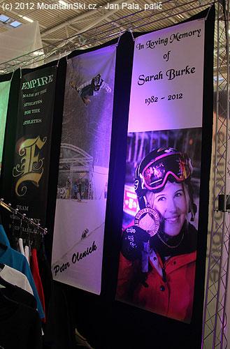 Sarah Burke se těžce zranila při tréninku skoků a bohužel následkem zranění zemřela…