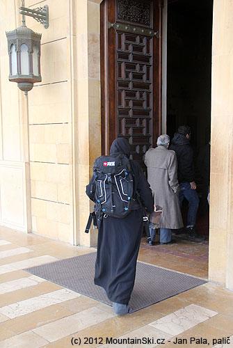 Se Snowpulse do Modré mešity vcentru Bejrútu