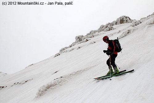 Matúš ready to ski