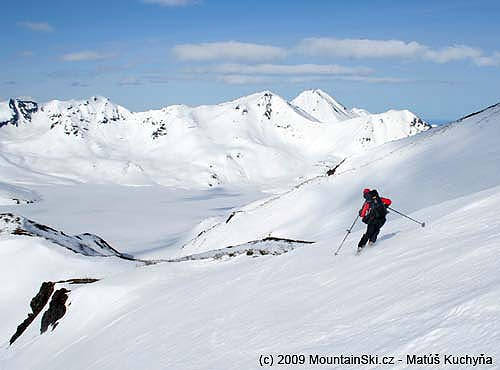 The end of skiing from Viljuchinskij