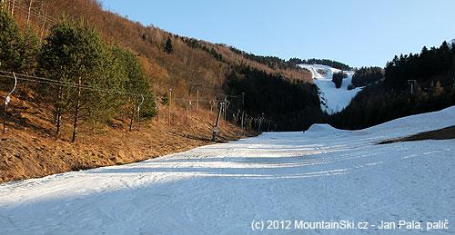 Poslední pohled, sbalit lyže a odjezd