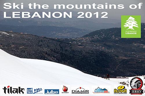 Úvodní stránka promítání zLibanonu