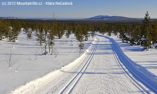 Národní park Pyhä-Luosto– rovinatá část