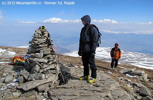 Tento vrchol ještě nebyl Titov vrv, ikdyž už měl přes 2700metrů