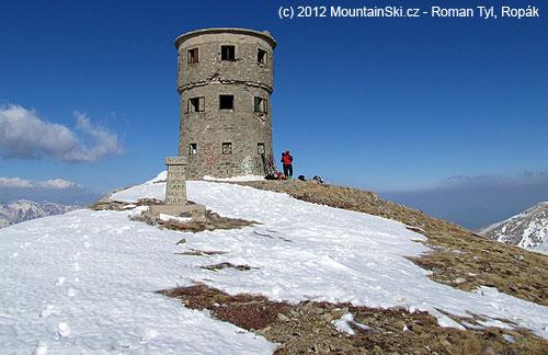Titov vrv se svými 2748metry byl třetím nejvyšším vrcholem bývalé Jugoslávie