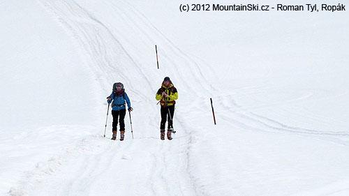 Cestou zObergurglu na Langtalereckhütte
