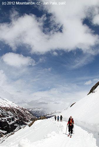 Cestou na Langtalereckhütte