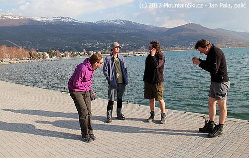 Cestou zPelisteru jsme se stavili ve městě Ohrid patřícímu do dědictví UNESCO, mě se tam líbilo, ale této skupiněne