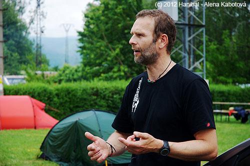 Roman Kammler přednáší