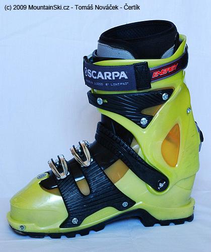 Vnitřní strana boty Scarpa Spirit 4