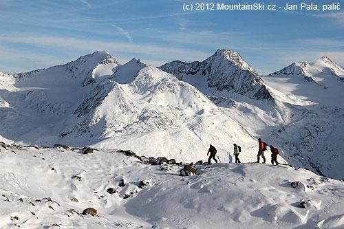 VÖtztálských Alpách…