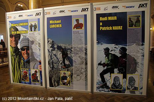 Neúplný přehled účastníků čtvrtečního fóra alpinismu věnovaného lavinám