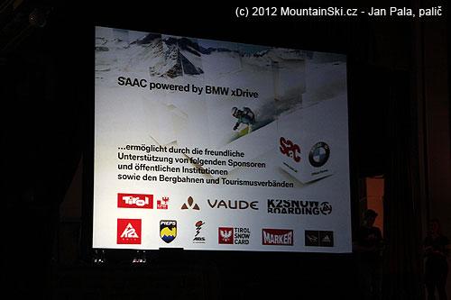 SAAC sponzorováno BMW xDrive