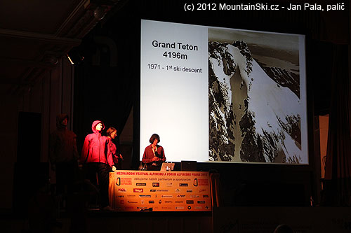Grand Teton vcelé své kráse