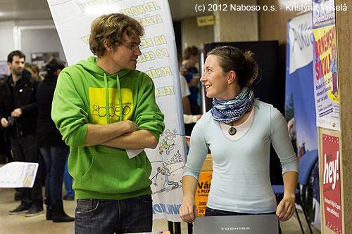 Pavel Pichler a Marie Klementová– přednášející vše oAlpenvereinu