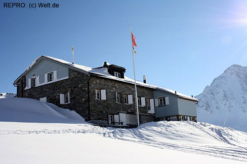 Naším cílem byla Maighelshütte