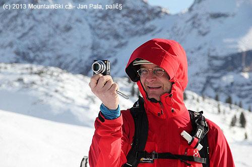 Mountain guide Franz Perchtold as a photographer