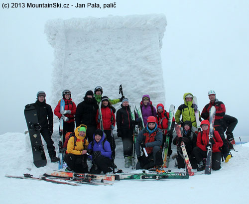 Summit photo on Heukuppe