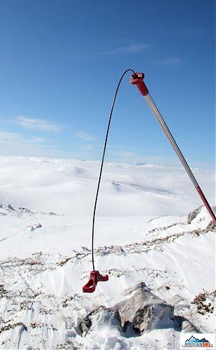 Sonda G3 nad pohořím Jahorina