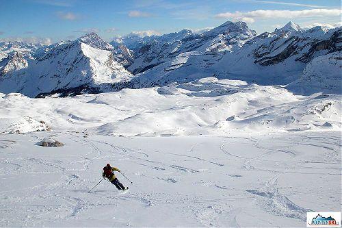 Dolomitské lyžování