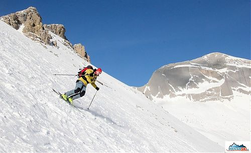There was also hard surface during the skiing