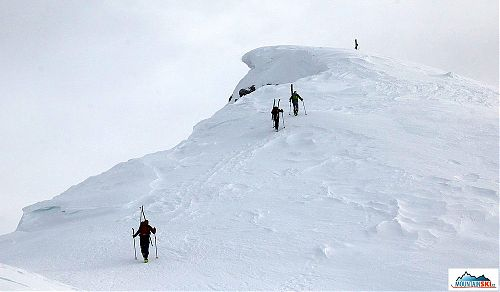 The summit of Col Bechei de Sora is almost here