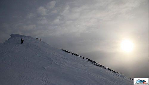U vrcholu Col Bechei de Sora