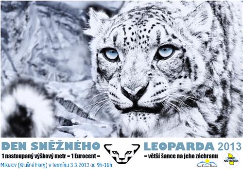 Den Sněžného Leoparda 2013 - skialpinistická charitativní akce