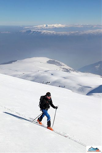 Ski-touring trip on the Macedonian mountains