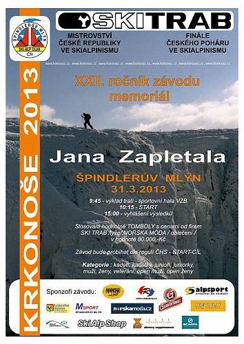 Pozvánka na Mistrovství České republiky ve skialpinismu 2013