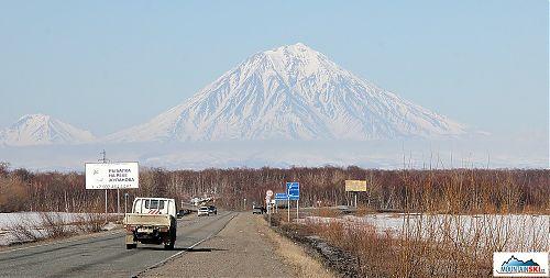 Ski Korjaksky - asi není co dodat, výška 3456 metrů je impozantní