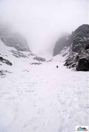 Konečne zima, Observatory Gully