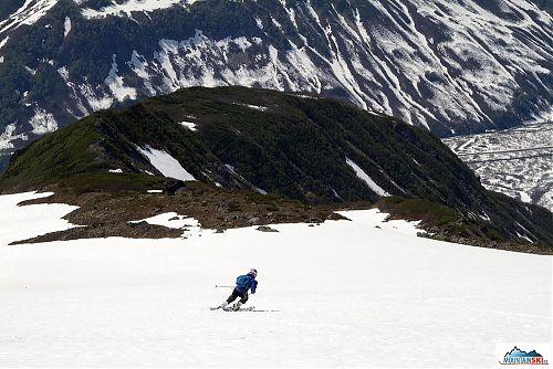 Ideální letní lyžování - vulkán Viljučinskij