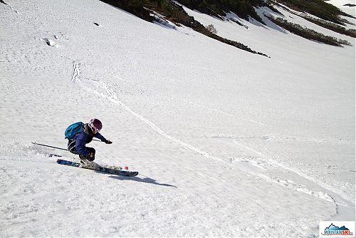 Parádní jarné-letní sníh na Viljučinském