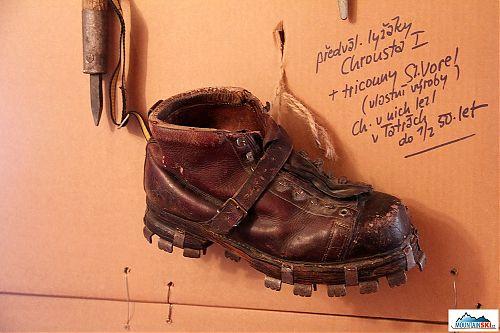 V jakých botkách se před válkou lyžovalo