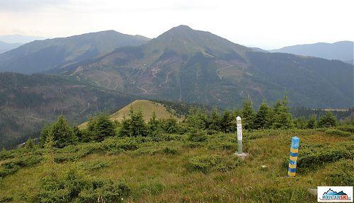 To nejsou trasy na offroady či enduro na tomto kopci, ale jen rumunská těžba dřeva...