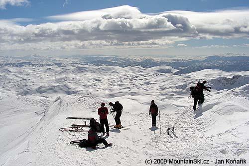 Fantastické výhledy vpohoří Treskavica
