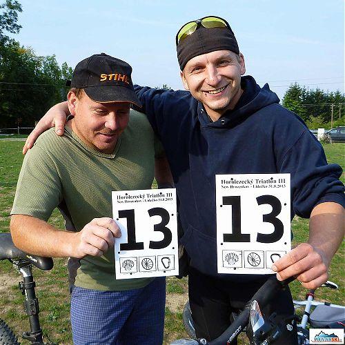 Číslo 13 si vybrala Martin Červenka - Buky a Michal Kubík - Šón, nakonec si oproti startovnímu číslo o dvě místa polepšili