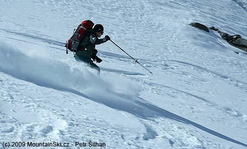 Marvelous skiing at Westlicher Seeblaskogl