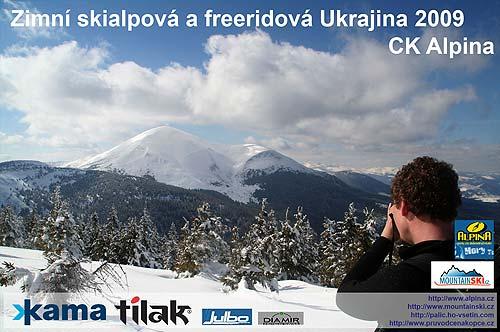 Závěrečná stránka promítání oUkrajině