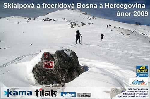 Závěrečná stránka promítání oKAMA SNOW CAMP 2009Bosna a Hercegovina