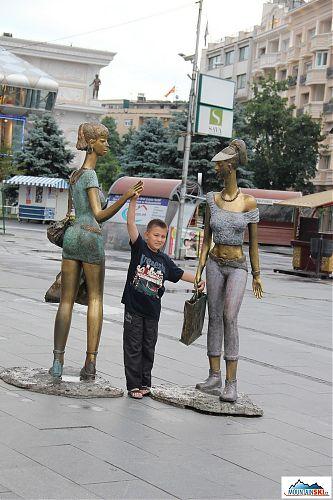 Skopje - město s nejvyšší hustotou soch na světě