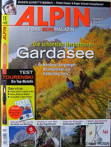 First page of Alpin 11–2009