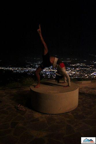 Večerně-noční hrátky se Skopje u nohou