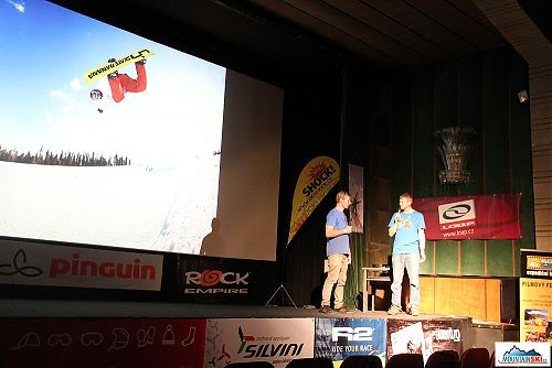 Martin Černík představuje film o s vém životě se snowboardem