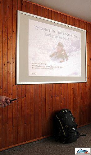 Iva Sikulová rozebírá nejvhodnější způsoby kopání ve sněhu