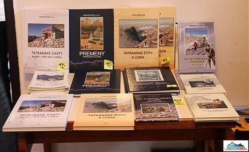 Prodejní ukázka knih z Vydavateľstva I&B